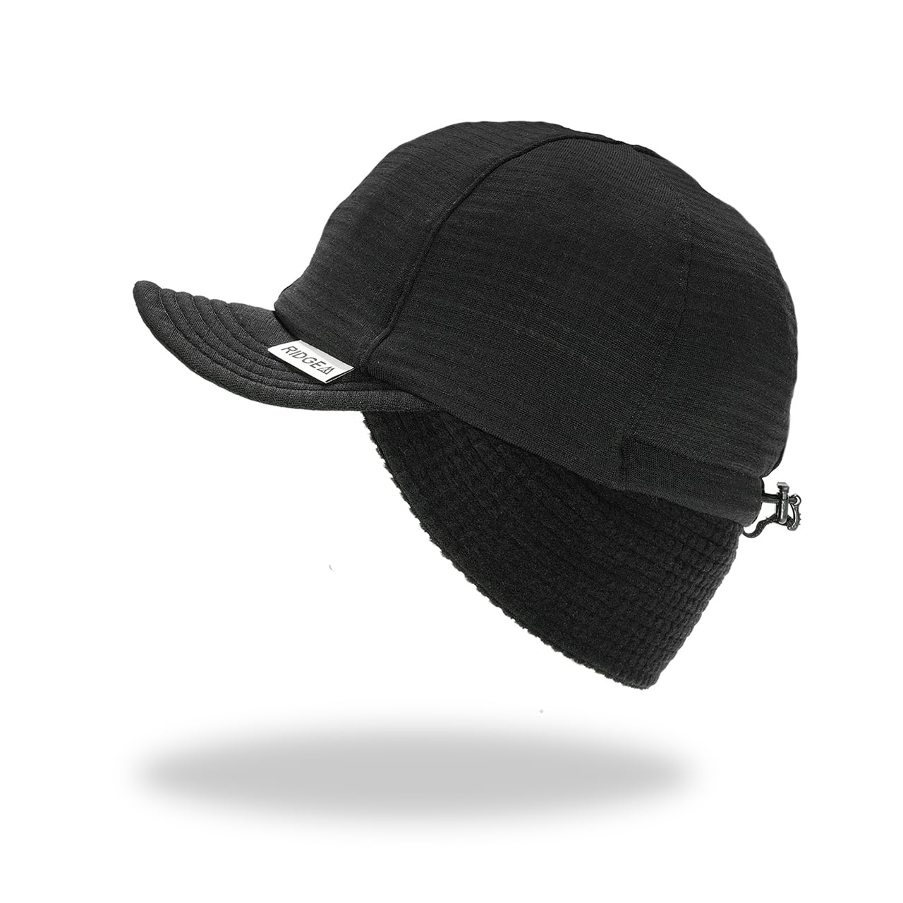 RIDGE MOUNTAIN GEAR / GRID MERINO EARMUFF CAP