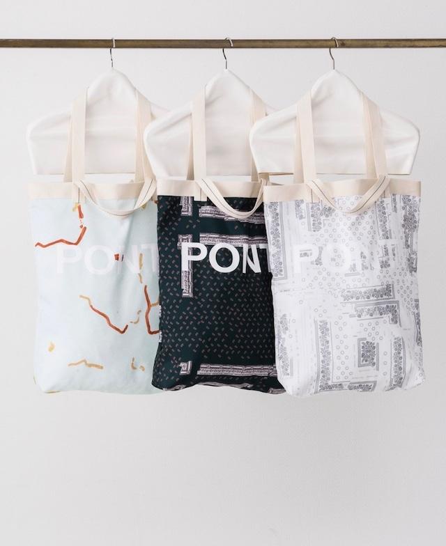 【PONTI】INKJET PRINT BAG PO2J044