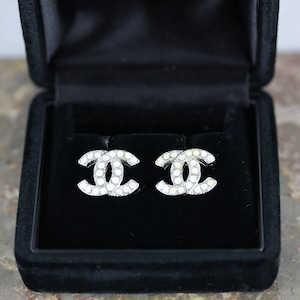 .CHANEL 06C COCO MARC COLOR STONE EARRING MADE IN FRANCE/シャネルココマークカラーストーンピアス2000000052274