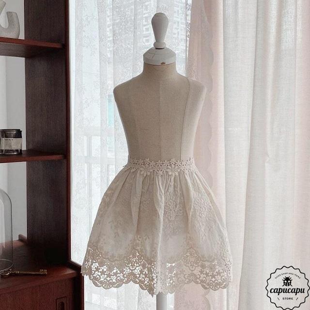«即納» emily lace apron  エミリーレースエプロン
