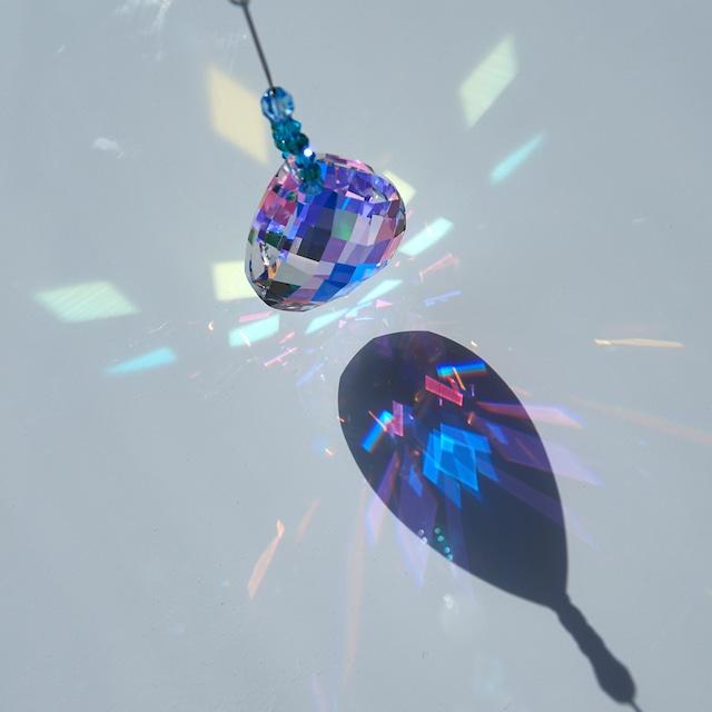 【プレシオサ】気の流れを整える*白蝶貝入りしずくサンキャッチャー