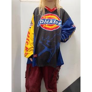 00's Dickies レーシングシャツ