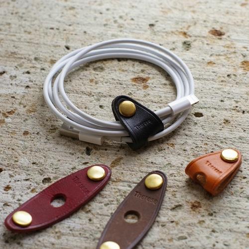 Therese Leather Cord Crip【コードクリップ】【日本製】【本革】