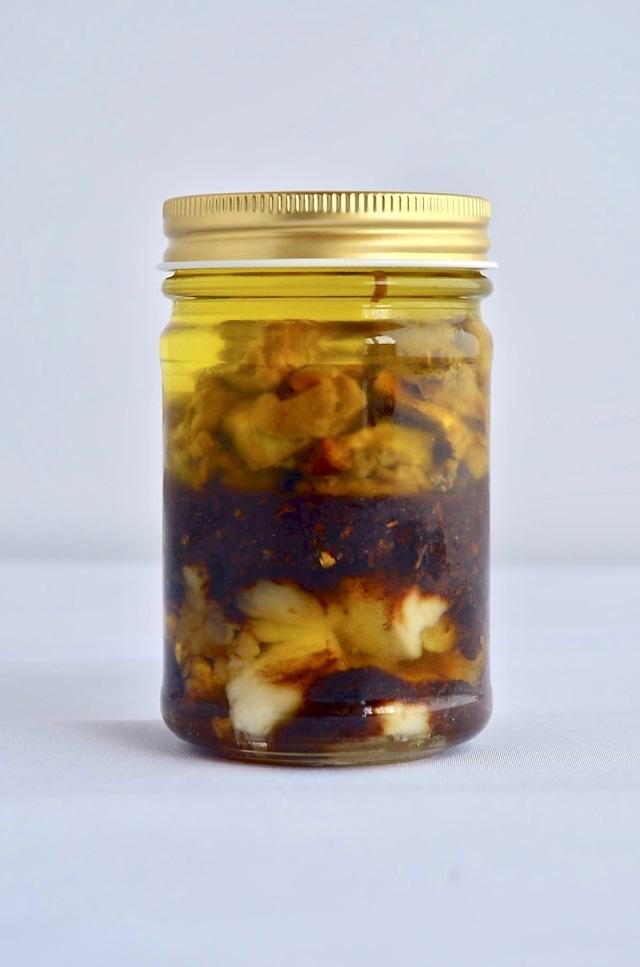 赤山鳥茸のオイル漬けソース(バーニャカウダ) 120g × 1つ