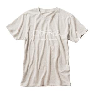 ロゴTシャツ:カタカナ 生成り