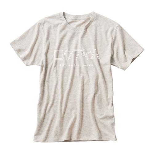 ロゴTシャツ:カタカナ|生成り