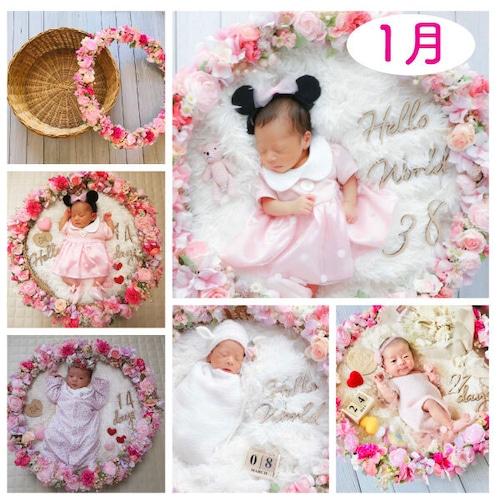 夢の国♡ピンクリースのコーデセット<1月ご出産予定日のお客様ご予約枠>