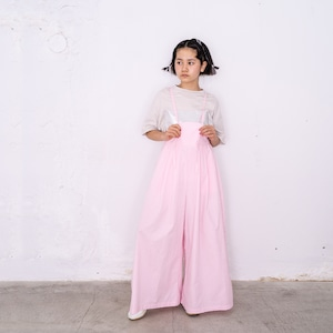 AIRY WIDE OVERALLS DYED / WOMEN