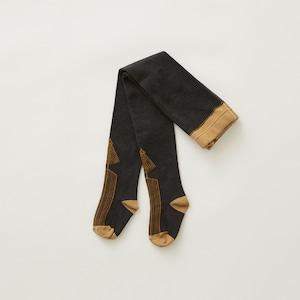 eLfinFolk  Abies tights  (charcoal)  M/L elf-212A34 メール便可