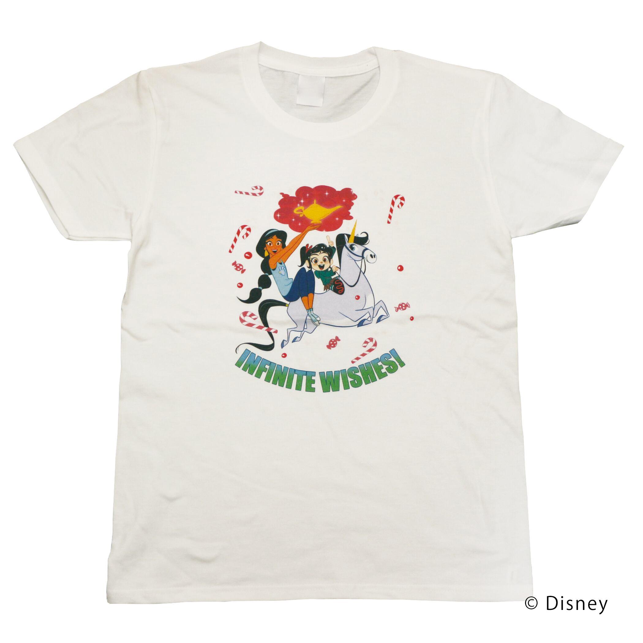 【ディズニー】シュガー・ラッシュ:オンライン ヴァネロペ & ジャスミン Tシャツ