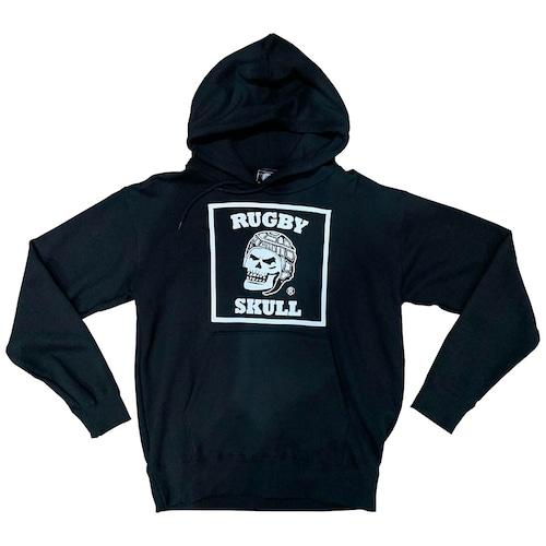 RUGBY SKULL Big Logo Pullover Hoody Black