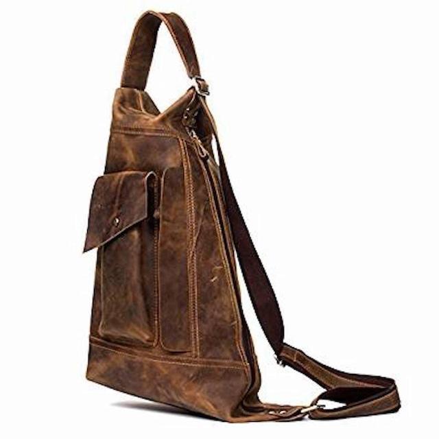 ボディバッグ ワンショルダーバッグ レザー 革 メンズ 斜めがけバッグ 軽量 斜め掛bag-1228