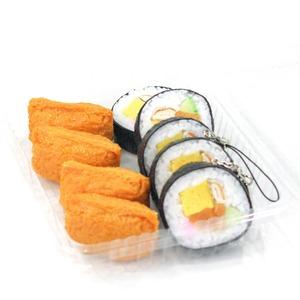 巻き寿司 食品サンプル キーホルダー ストラップ