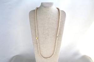 Cotton PearlSmile necklace
