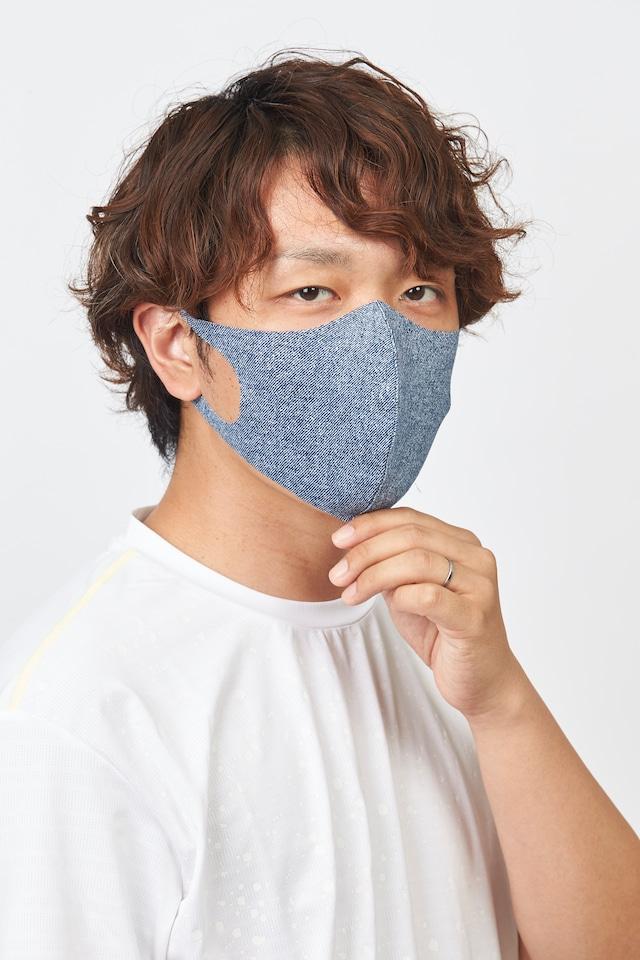 メッシュ「クール♥」 Rサイズ マスク 無地2枚セット 接触冷感・UVカット・吸汗速乾 #110
