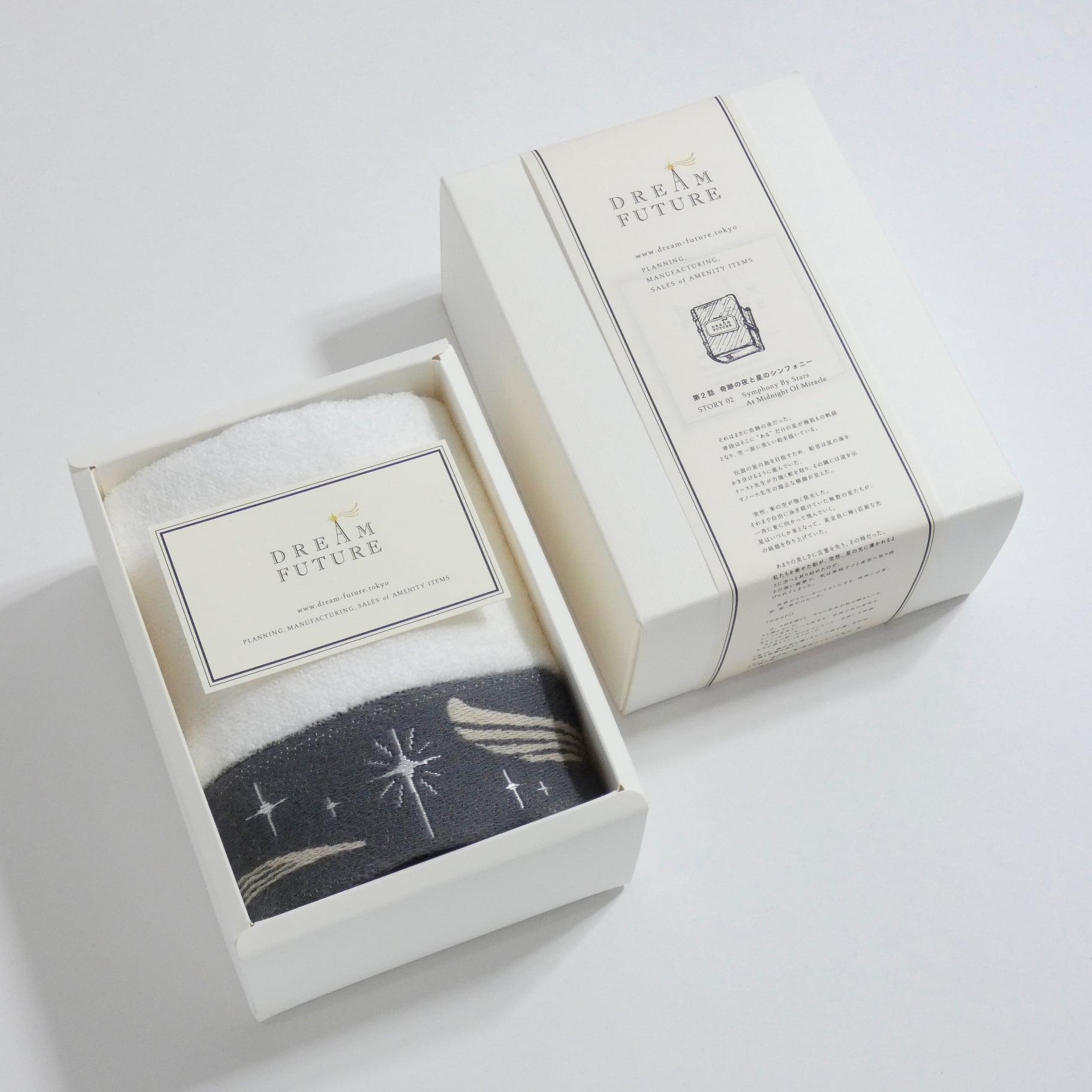 無撚糸(むねんし)高級Hand Towel 1枚SET Twinkle GRAY