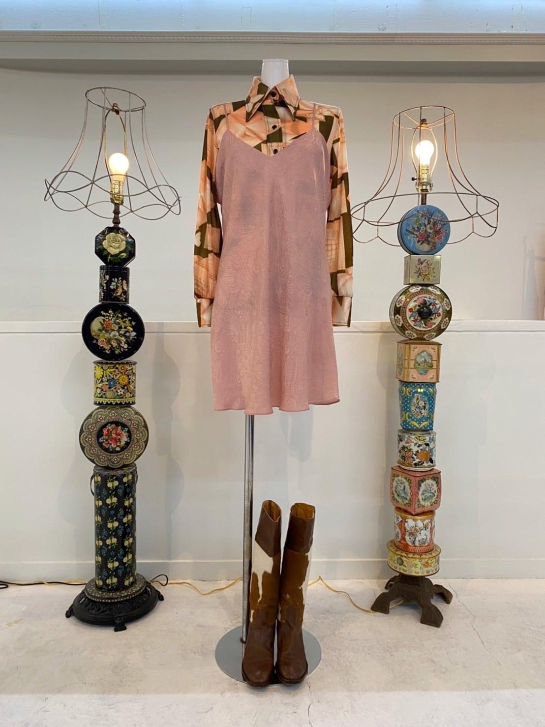 Silk camisole dress
