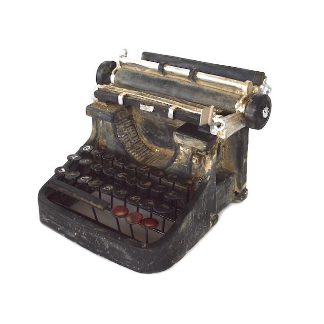アンティーク レトロオブジェ タイプライター 26512 古い 置き物 おしゃれ レトロ 蚤の市 インテリア ギフト 古道具