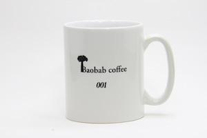 Baobabcoffeeマグカップ シリアルナンバー入り Mサイズ