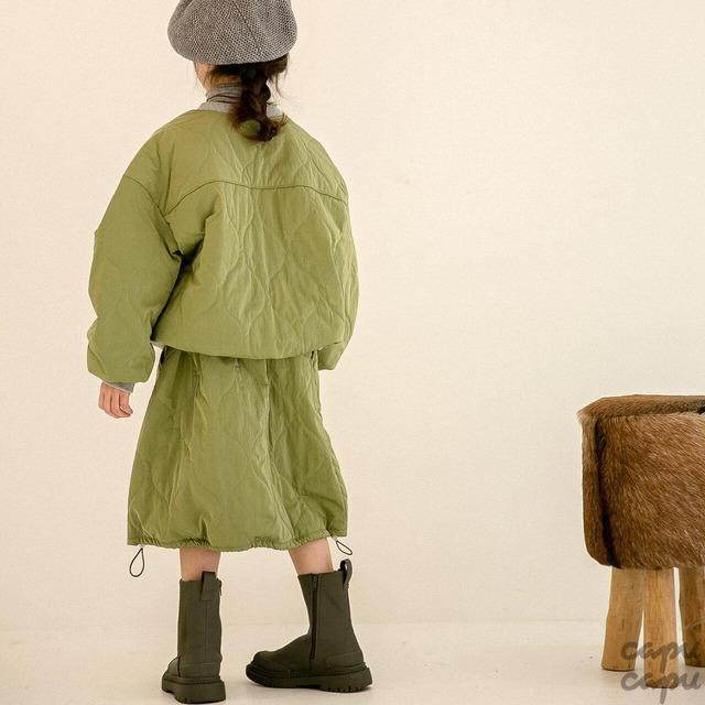 «先行予約割引»«Z'an Clover» quilting pants キルティングスカート
