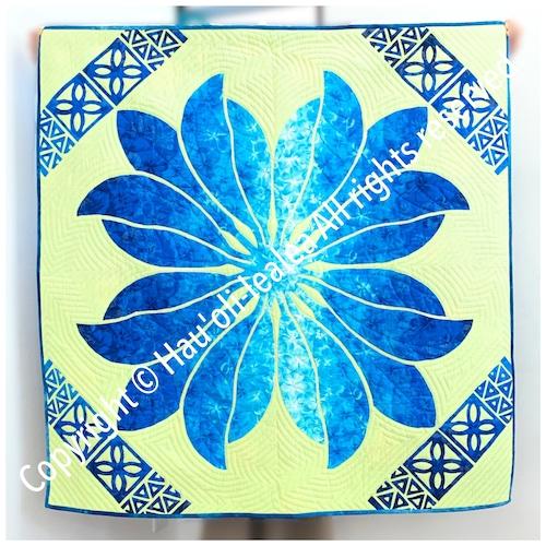 110cmタペストリー パターン(型紙)* ティーリーフのタペストリー