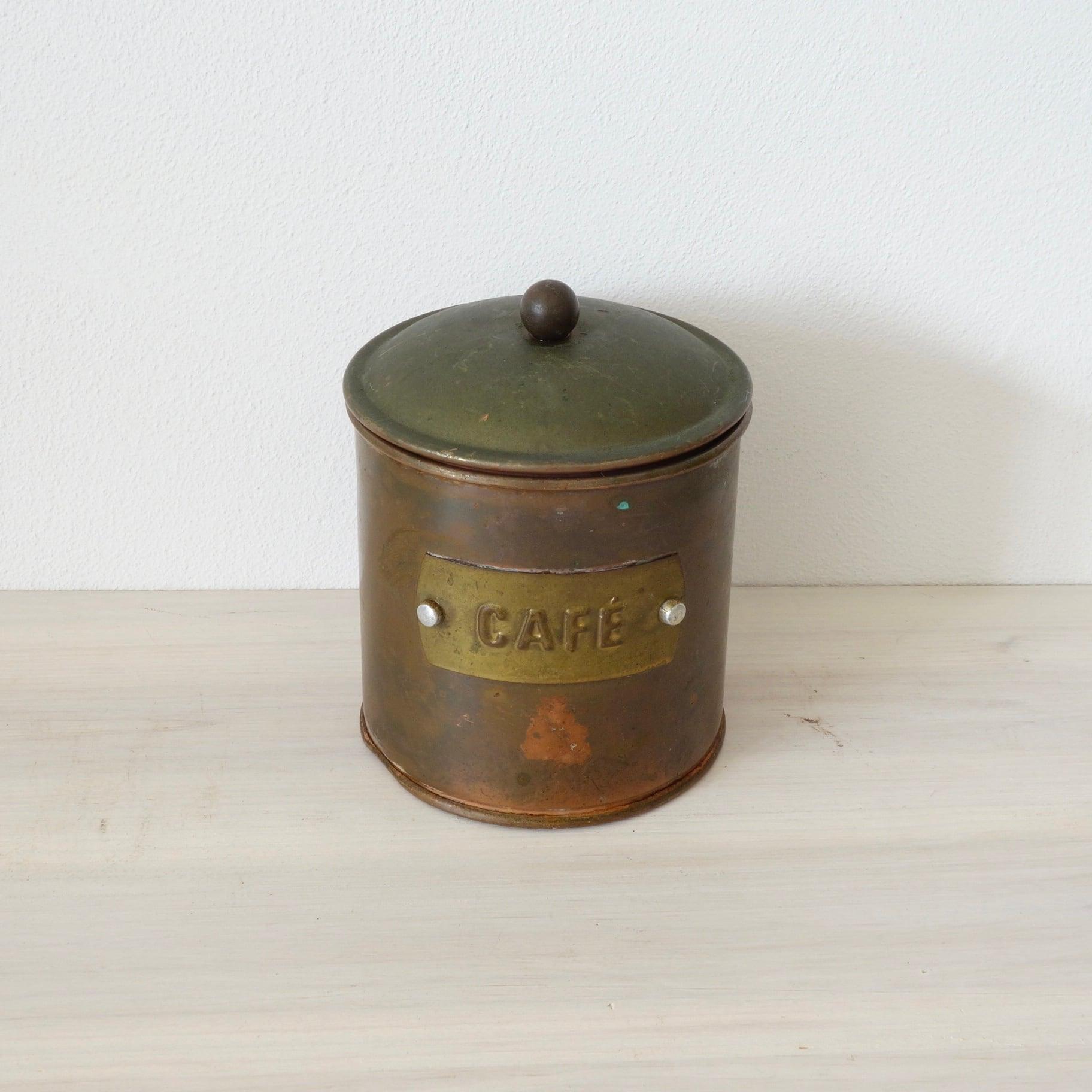 CopperのCoffee缶