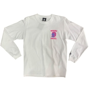 RUGBY SKULL 2Color LongT-Shirt White