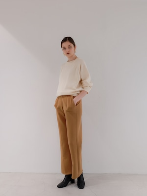 bonding slit pants(camel)