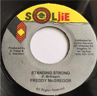 Freddie McGregor(フレディーマクレガー) - Standing Strong【7'】