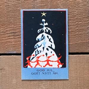ミニ・クリスマスカード「Boel Cronberg(ボエル・クローンベリ)」《201101-01》