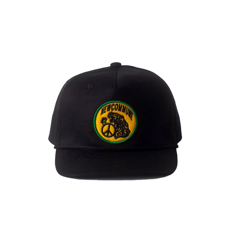 NEW COMMUNE 5 PANEL CAP / BLACK - 画像2