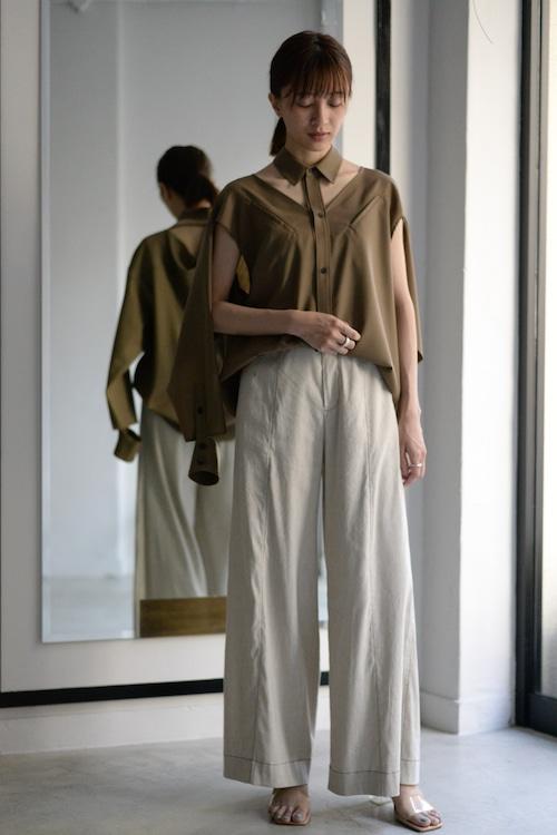 G.V.G.V. / SAILOR SILHOUETTE PANTS (beige)