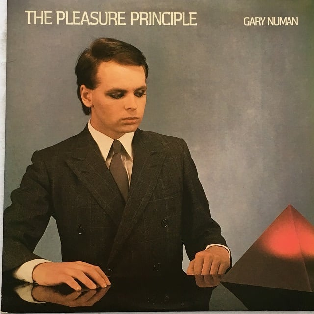 【LP・米盤】Gary Numan  /  The Pleasure Principle