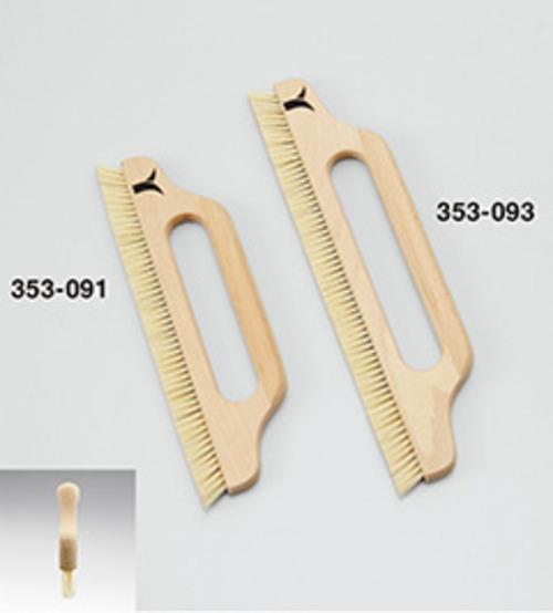 353093植込みブラシホワイト二行穴アキ 11寸