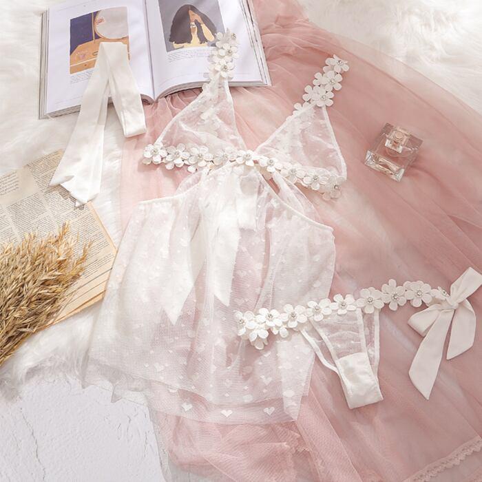 [2color] Flower maiden lingerie #L13