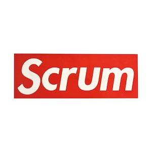 Scrum Sticker Red (送料無料)