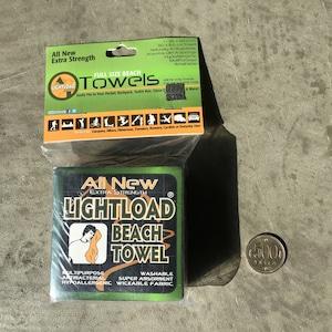 Lightload Towels エクストラストレングスビーチタオル