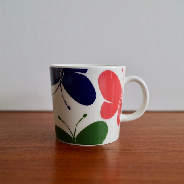 Arabia アラビア /  Teema ティーマ Perhonen ちょうちょ マグカップ