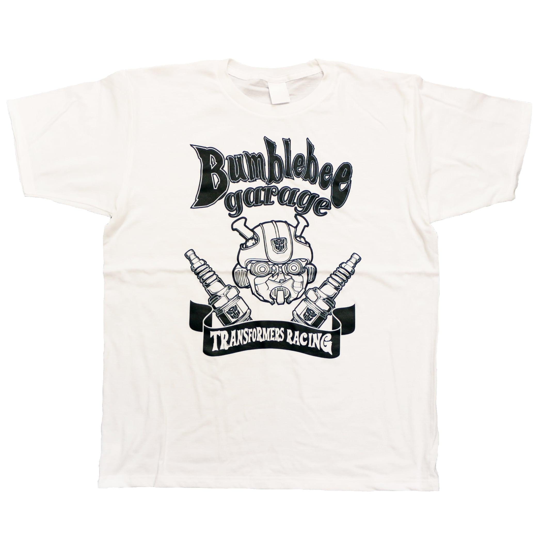 【トランスフォーマー】映画:バンブルビー|バンブルビーガレージ Tシャツ
