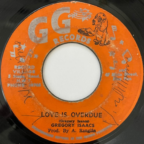 Gregory Isaacs - Love Is Overdue【7-20761】