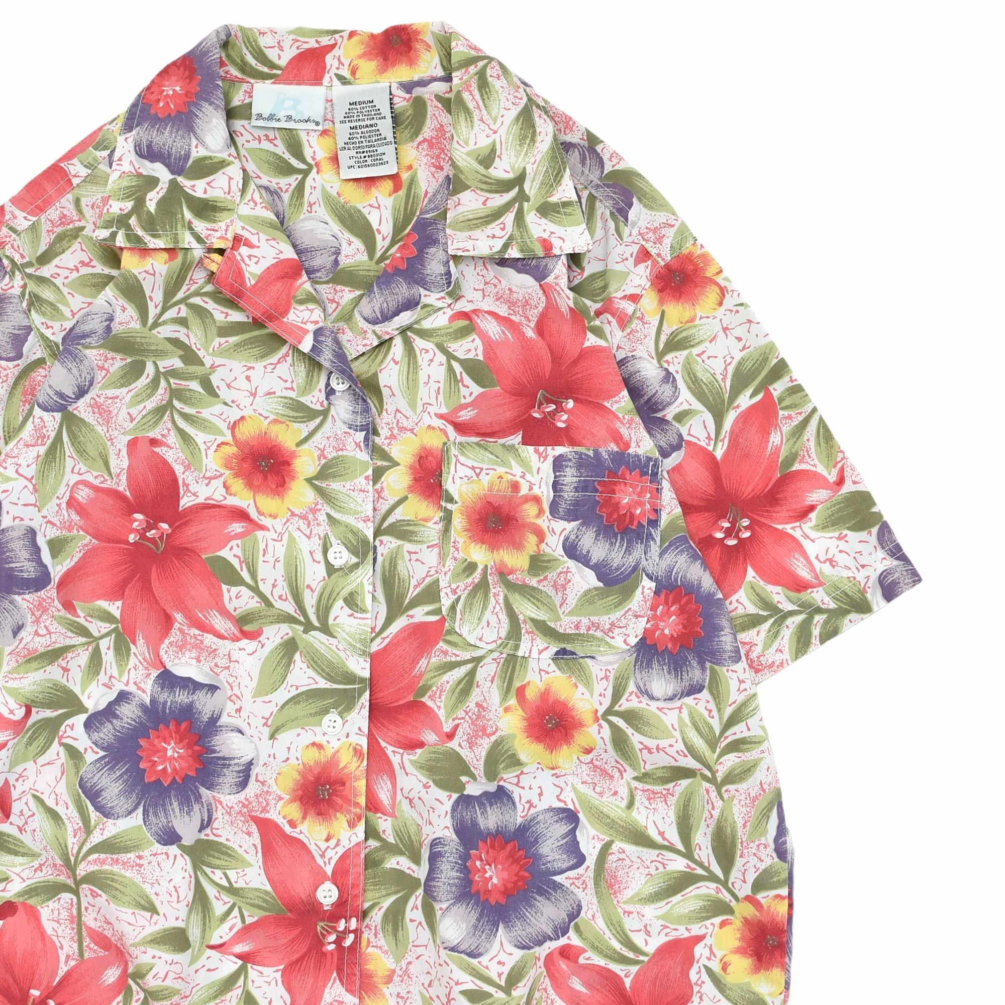 90's Bollie Brooks open collar shirt