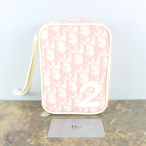 .Christian Dior TROTTER BANITY BAG MADE IN SPAIN/クリスチャンディオールトロッターバニティバッグ(ポーチ)2000000052083
