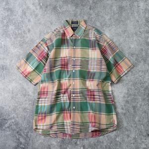 """1990s  """" GANT """"  S/S  BD  Shirts  M A338"""
