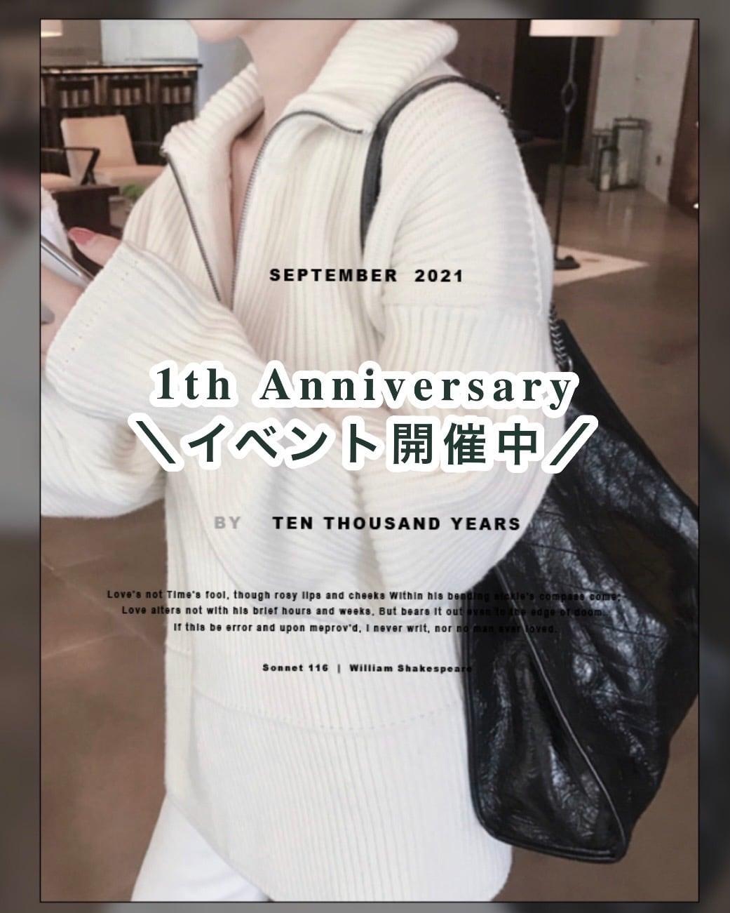 《10/1〜10/31まで✨》Éternel1周年イベント