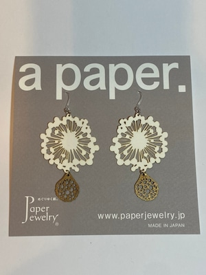 【Paper Jewely】ジェリー/ピアス