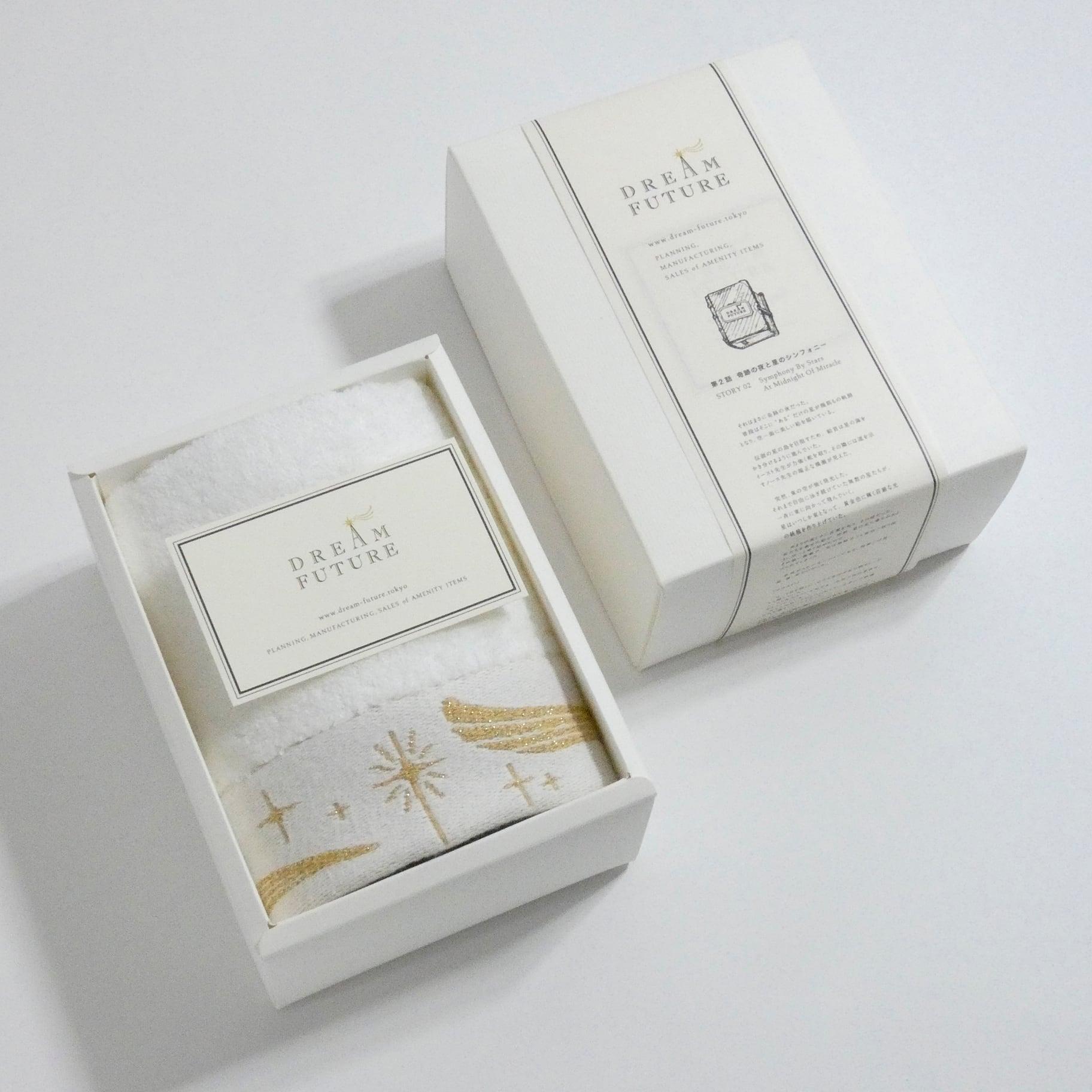 無撚糸(むねんし)高級Hand Towel 1枚SET GOLD