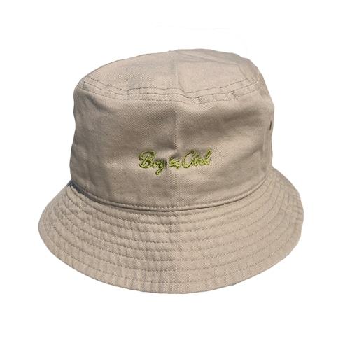 Boy≒Girl Logo Hat(Beige)
