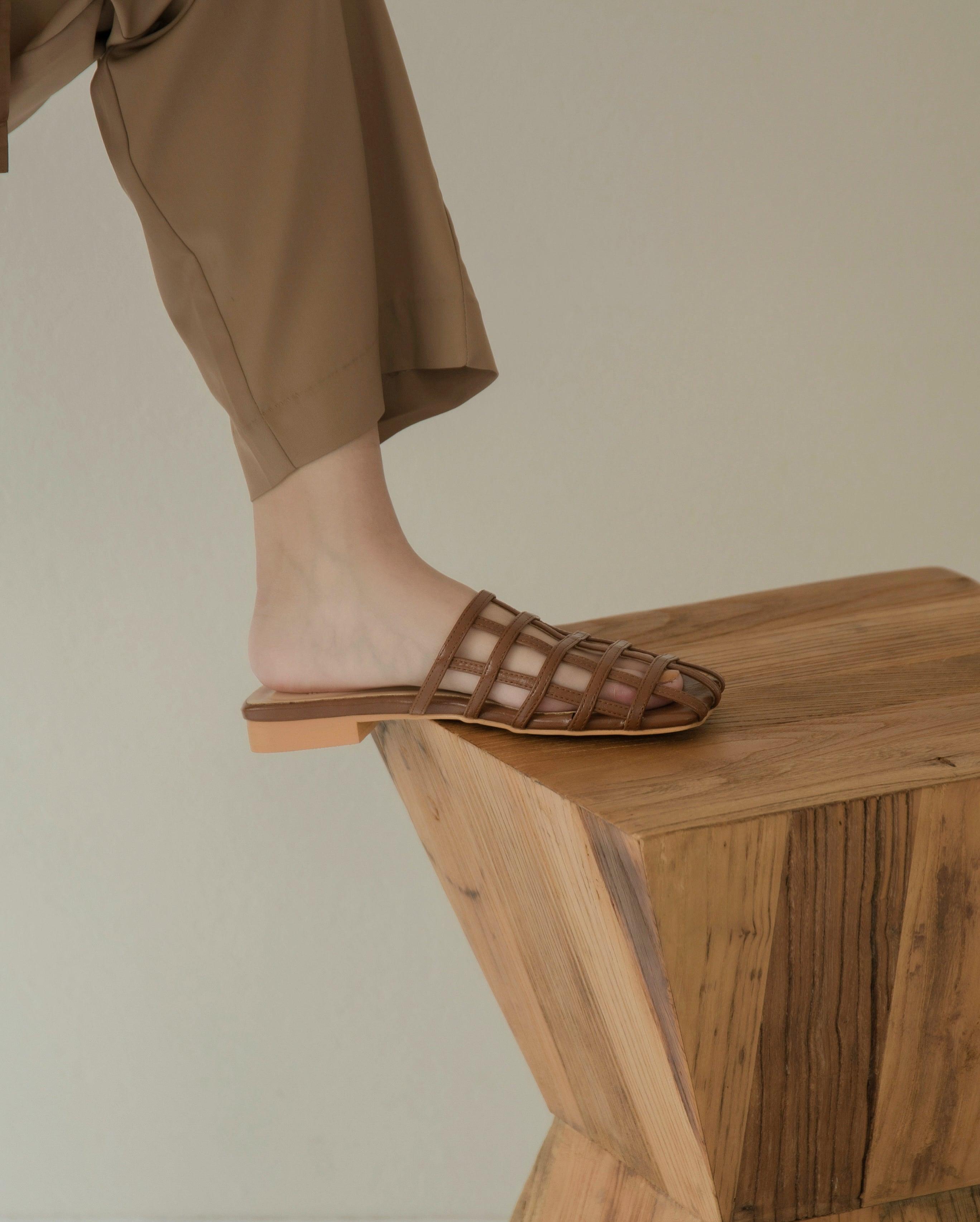 cutwork sandal