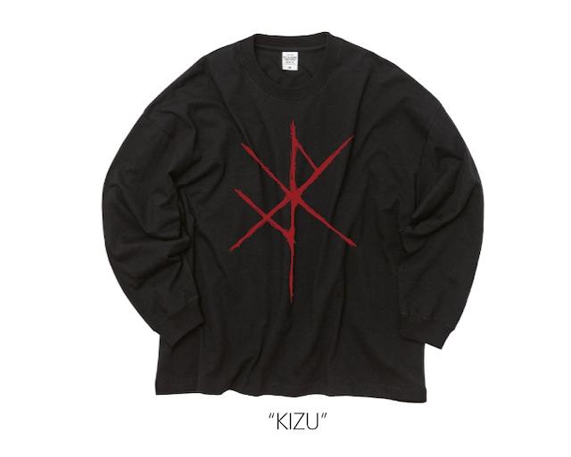 """Kazuma Kubota - """" KIZU"""" Big Longsleeve Shirt"""