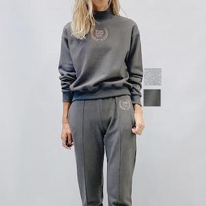 DOUBLE STANDARD CLOTHING(ダブルスタンダードクロージング) ESSENTIAL/スウェード裏毛プルオーバー 2021秋冬物新作[送料無料]
